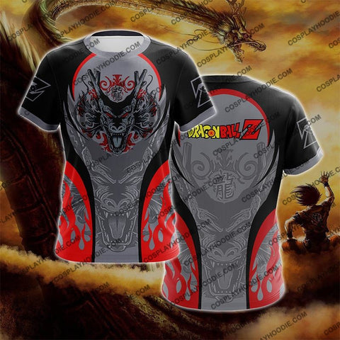 Image of Dragon Ball Z Shenron Red Cosplay T-Shirt T-Shirt
