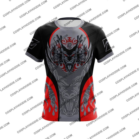 Dragon Ball Z Shenron Red Cosplay T-Shirt T-Shirt