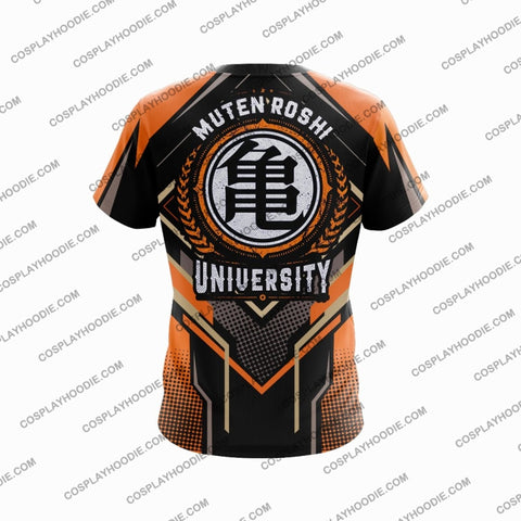 Dragon Ball Master Roshi Orange Cosplay T-Shirt T-Shirt