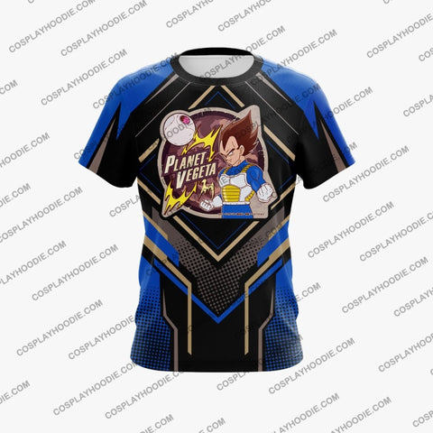 Dragon Ball Vegeta Cosplay T-Shirt T-Shirt