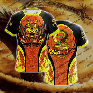 Dragon Ball Z Shenron Gold Cosplay T-Shirt T-Shirt