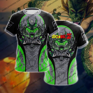 Dragon Ball Z Shenron Green Cosplay T-Shirt T-Shirt