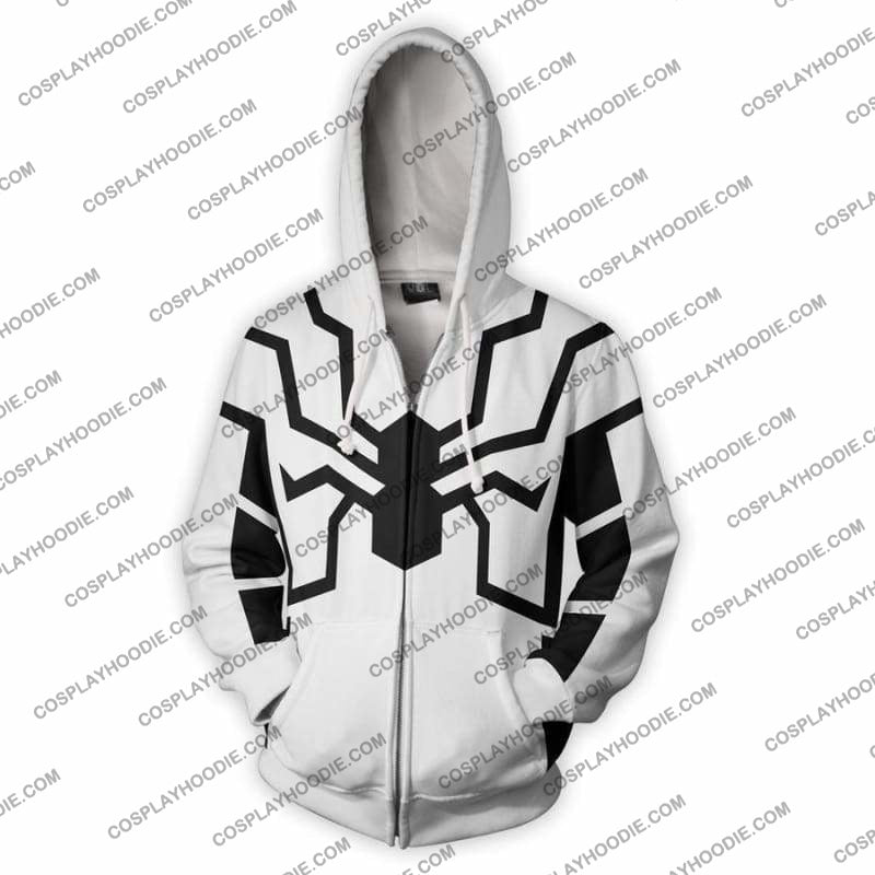 Spiderman Hoodie - Future Foundation Spider-Man Jacket Cosplay