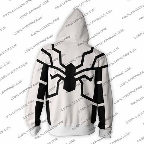 Image of Spiderman Hoodie - Future Foundation Spider-Man Jacket Cosplay