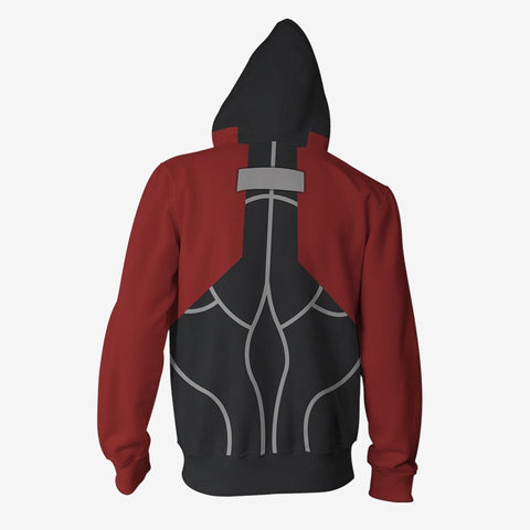 Fatestay Night - Archer Cosplay Hoodie Jacket