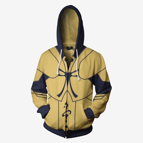 Fatestay Night - Gilgamesh Cosplay Hoodie Jacket