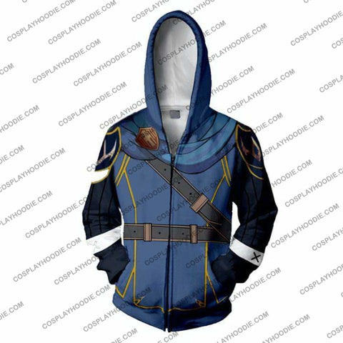 Image of Fire Emblem Hoodies - Awakening Marth Lucina Zip Up Hoodie Jacket Cosplay