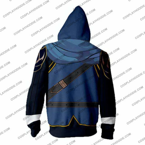 Fire Emblem Hoodies - Awakening Marth Lucina Zip Up Hoodie Jacket Cosplay
