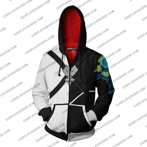 Image of Kingdom Hearts Ventus Hoodie Cosplay Jacket Zip Up