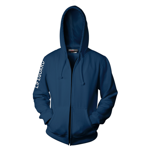 Baywatch Blue Hoodie Cosplay Jacket Zip Up