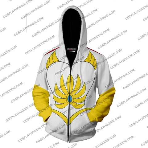 Shera Cosplay Princess Of Power Zip Up Hoodie Jacket