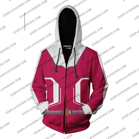 Pokemon Go Girl Trainer Hoodie Cosplay Jacket Zip Up