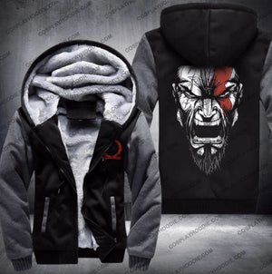 God Of War Fleece Winter Jacket