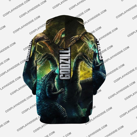 Godzilla - King Of The Monsters G1 Cosplay Hoodie Jacket
