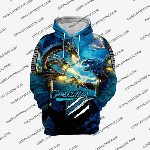 Godzilla - King Of The Monsters G2 Cosplay Hoodie Jacket