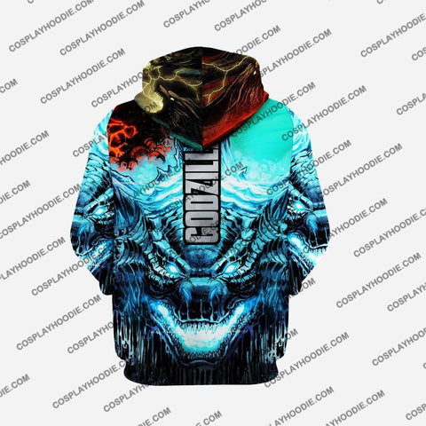 Godzilla - King Of The Monsters G3 Cosplay Hoodie Jacket