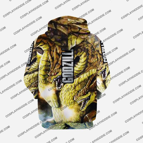 Godzilla - King Of The Monsters G4 Cosplay Hoodie Jacket