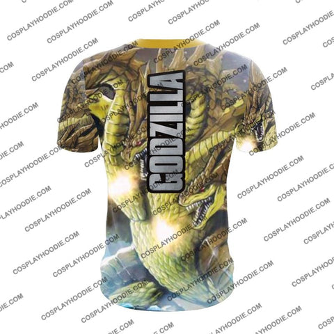 Godzilla - King Of The Monsters G4 Cosplay T-Shirt