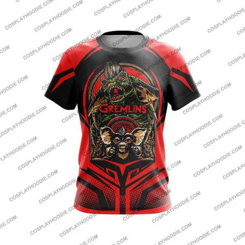Gremblin Red And Black T-Shirt T-Shirt
