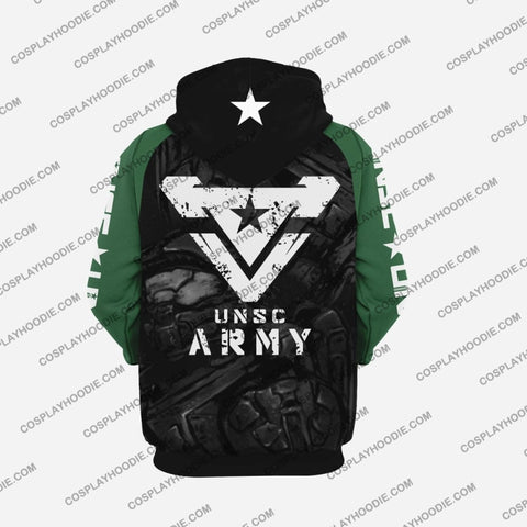 Image of Halo Master Chief Hoodie Cosplay Jacket