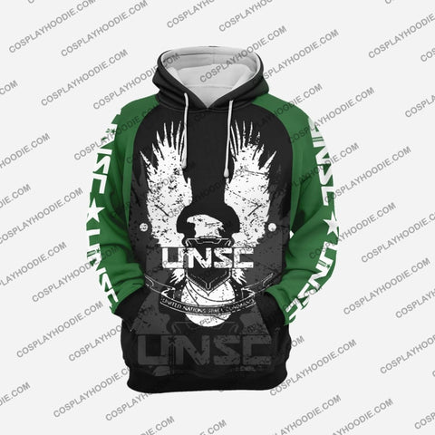 Image of Halo Unsc Army H1 Hoodie Cosplay Jacket
