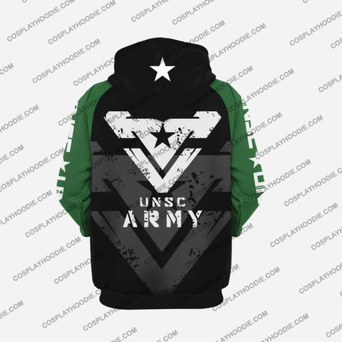 Image of Halo Unsc Army H2 Hoodie Cosplay Jacket