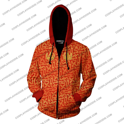Tekken Heihachi Mishima Hoodie Cosplay Jacket Zip Up