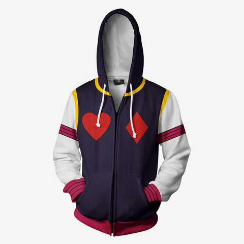 Image of Hunter X - Hisoka Morow Cosplay Hoodie Jacket
