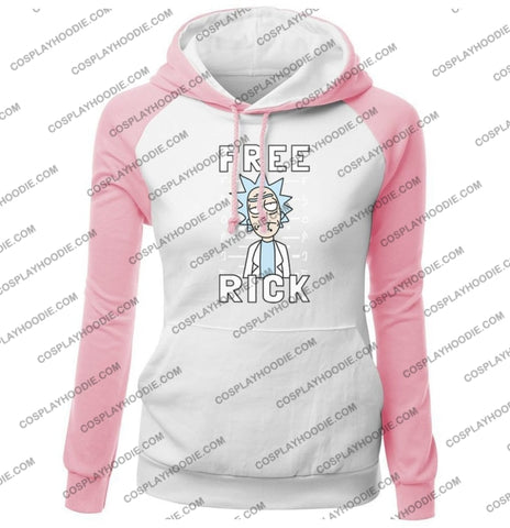 Free Rick And Morty Fashion Womens Hoodie Color3 / S