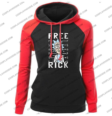 Free Rick And Morty Fashion Womens Hoodie Color4 / S