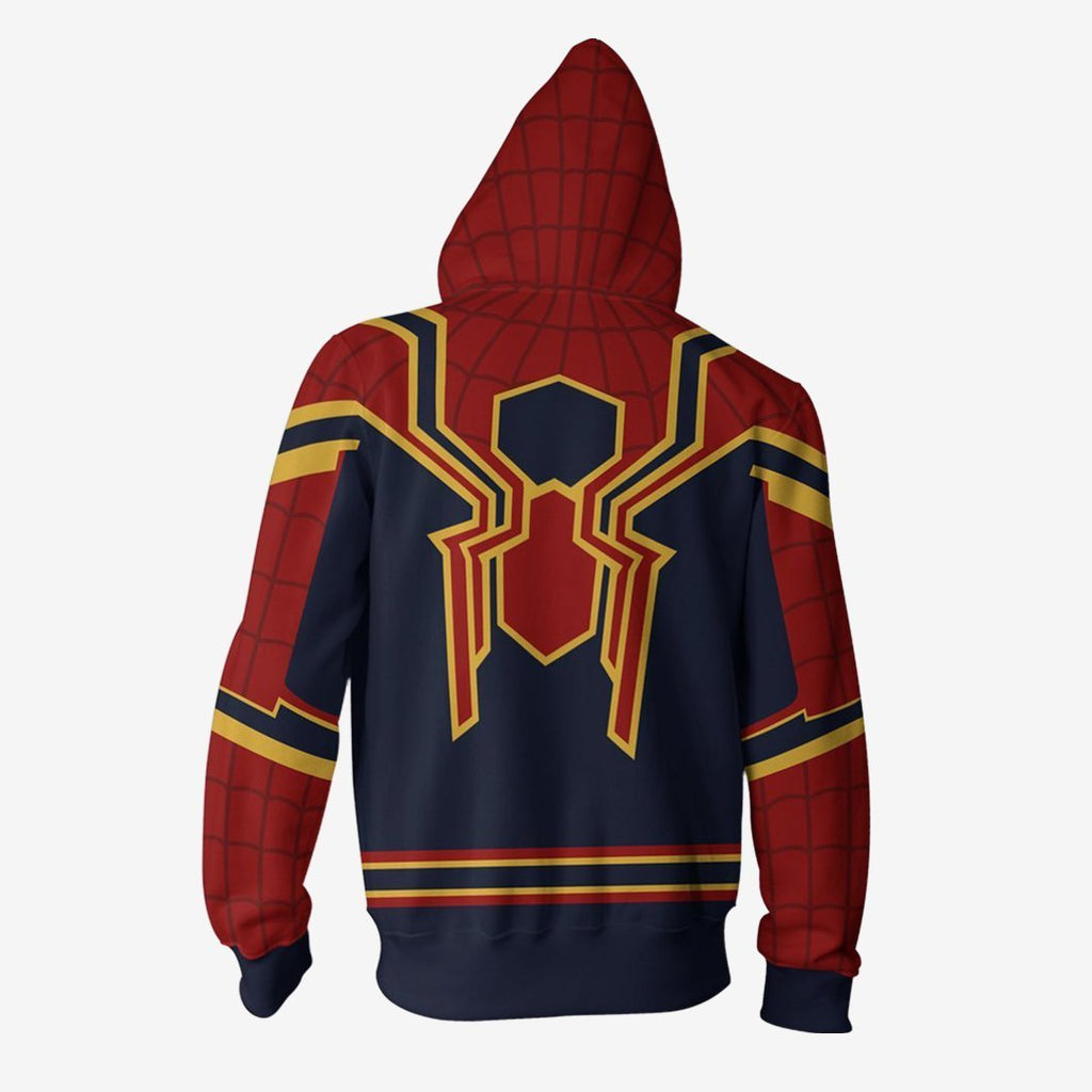 Marvel Comics - Homecoming Iron Spider Cosplay Hoodie Jacket