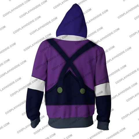 Jojos Bizarre Adventure Phantom Blood Dio Brando Hoodie Cosplay Jacket Zip Up