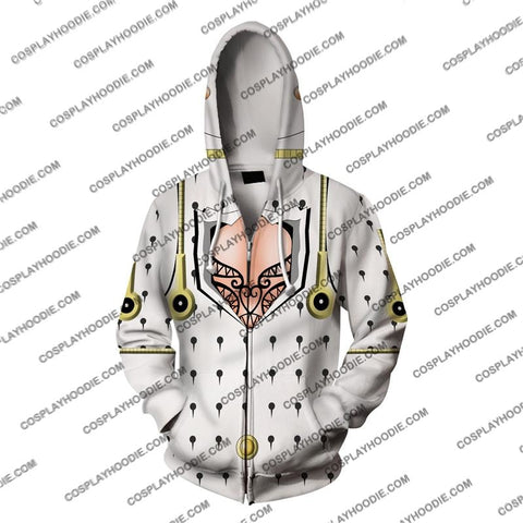 Image of Jojos Bizzare Adventure Golden Wind Bruno Bucciarati Cosplay Hoodie Jacket