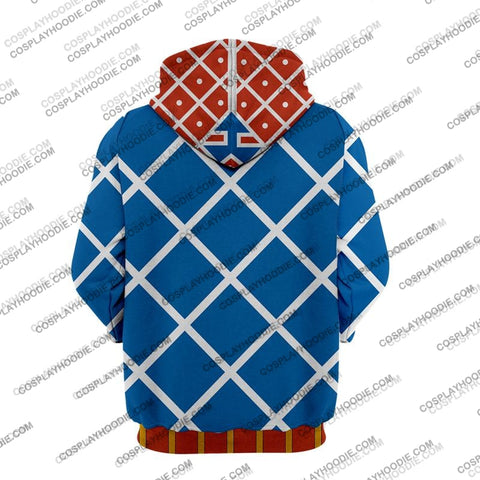 Jojos Bizzare Adventure Golden Wind Guido Mista Cosplay Hoodie Jacket