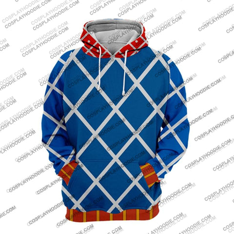 Image of Jojos Bizzare Adventure Golden Wind Guido Mista Cosplay Hoodie Jacket