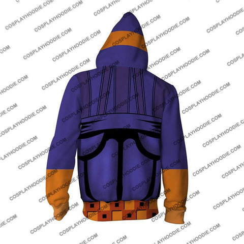 Image of Jojos Bizzare Adventure Golden Wind Narancia Ghirga Cosplay Hoodie Jacket