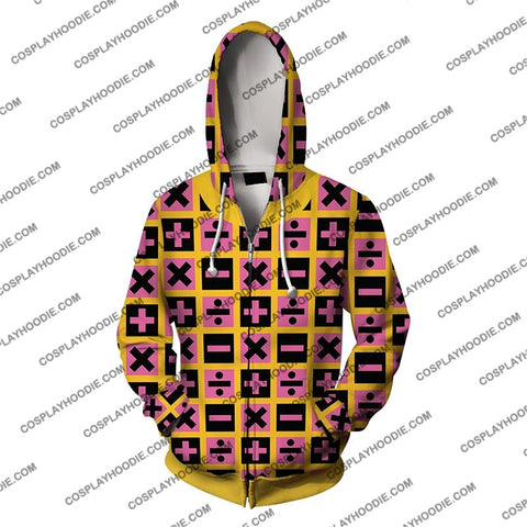 Image of Jojos Bizzare Adventure Golden Wind Trish Una Cosplay Hoodie Jacket
