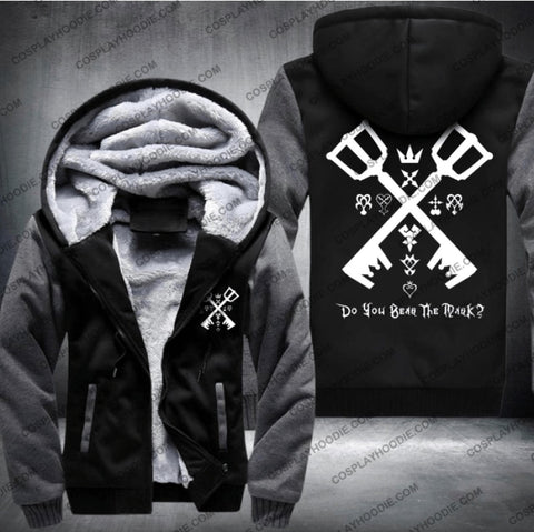 Kingdom Hearts Fleece Winter Jacket