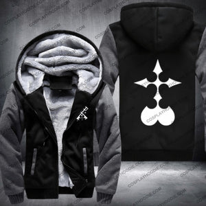 Kingdom Hearts Organization Xiii Fleece Winter Jacket