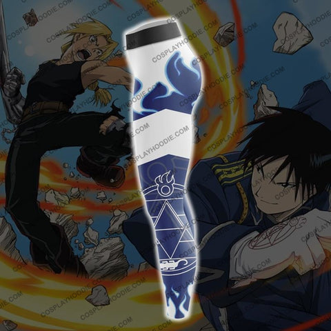 Fullmetal Alchemist Roy Mustang Blue Fire Cosplay Leggings