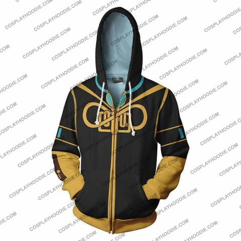 Image of Vocaloid Hoodie - Megurine Luka Jacket Cosplay
