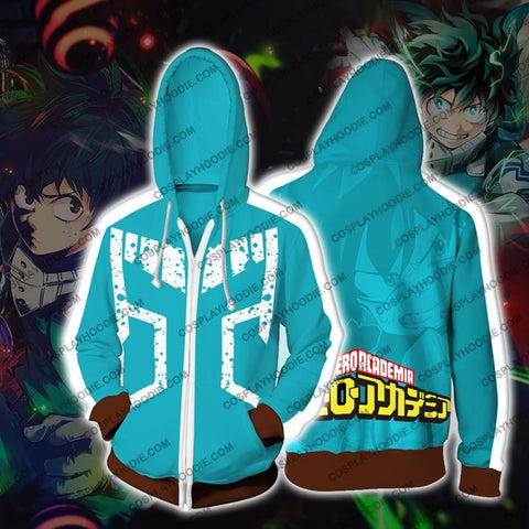 Image of My Hero Academia Izuki Midoriya Hoodie Jacket Cosplay