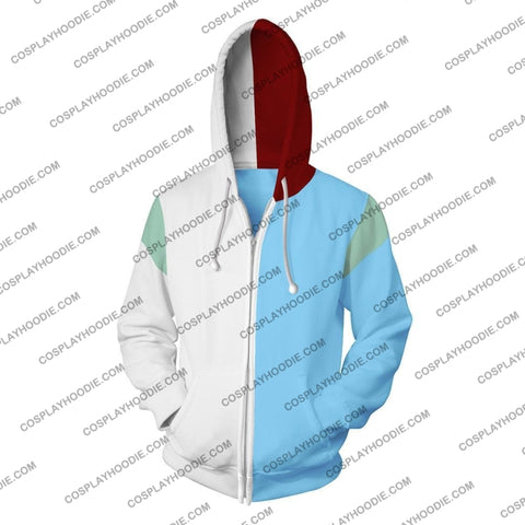 Image of My Hero Academia Todoroki Shoto Hoodie Jacket Cosplay