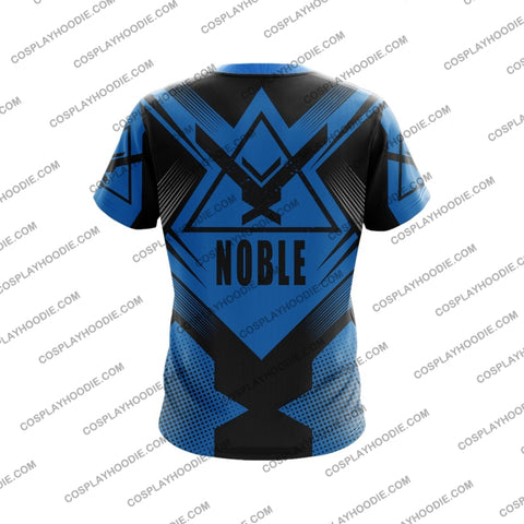 Image of Noble Team Halo Blue T-Shirt T-Shirt