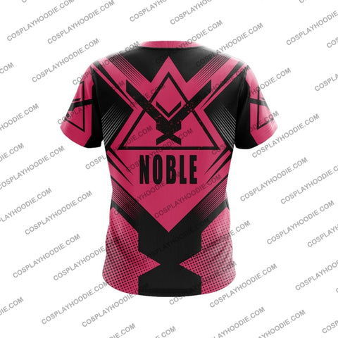 Image of Noble Team Halo Pink T-Shirt T-Shirt