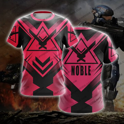 Noble Team Halo Pink T-Shirt T-Shirt