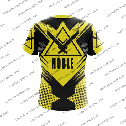 Image of Noble Team Halo Yellow T-Shirt T-Shirt