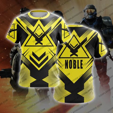 Noble Team Halo Yellow T-Shirt T-Shirt