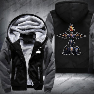 Organization Xiii Kingdom Hearts Fleece Winter Jacket