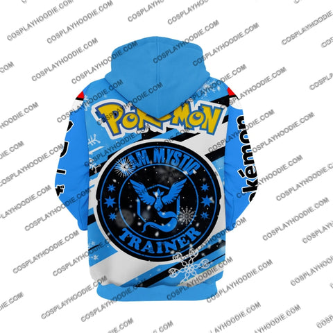 Image of Pokemon Articuno Cosplay Hoodie Jacket